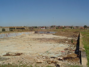 01 - Upgrading and Refurbishment of Zwide swimming pool - Site Before Construction