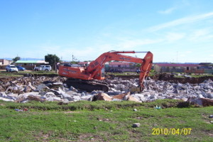 02 - Upgrading and Refurbishment of Zwide swimming pool - Demolition of Old Pool