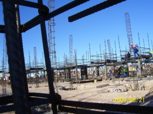 04 - Motherwell Thuson Centre - Columns Reinforcing