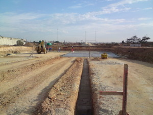 10 - Upgrading and Refurbishment of Zwide swimming pool - Filtration Piping Trench