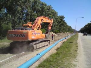 10 - Victoria Drive 315mm Watermain upgrade - Excavation