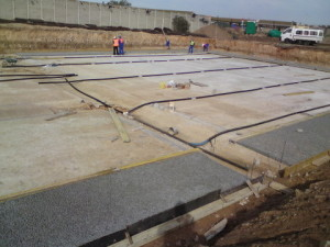 11 - Upgrading and Refurbishment of Zwide swimming pool - Subsoil Draining Pipes