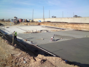 12 - Upgrading and Refurbishment of Zwide swimming pool - Pool Floor Concrete Work