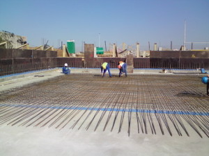 15 - Upgrading and Refurbishment of Zwide swimming pool - Steel Fixing and Shuttering