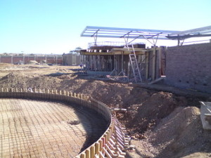 18 - Upgrading and Refurbishment of Zwide swimming pool - Steel Reinforcing Baby Pool