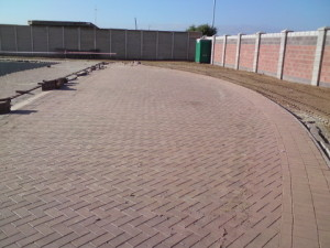 23 - Upgrading and Refurbishment of Zwide swimming pool - Paving