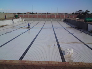 27 - Upgrading and Refurbishment of Zwide swimming pool - Main Pool Tiling