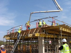02 - CDC Zone 5 - Casting of Concrete Roof Slab for Electrical Substation