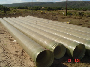 02 - Chatty Extension 12 & 13 - 450mm Dia Bulk Water line - 450mm dia. GRP pipes