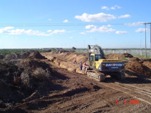 02 - Storm Water for Coega Industrial Zone 2 - Excavation for Storm Water Services