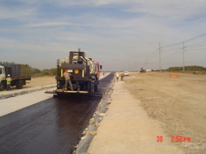 04 - CDC Zone 5 - Priming of Newly Constructed Road