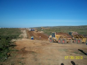 04 - Construction of Standford Road and Bloemendal Arterial - Bulk Earthworks opertation