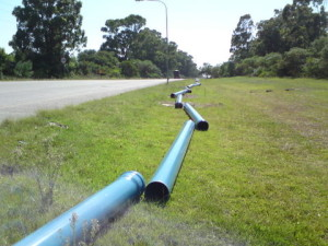 05 - Victoria Drive 315mm Watermain upgrade - 315mm Pipes