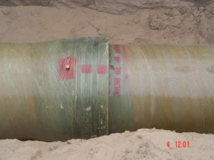 06 - Chatty Extension 12 & 13 - 450mm Dia Bulk Water line - Typical Collar Joint