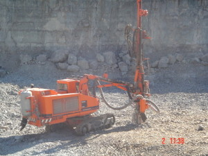 06 - DR08022 - Drilling at on Site Hard rock Quarry