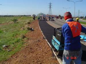 09 - Construction of Asphalt sidewalks - Premixing