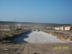 09 - Construction of Standford Road and Bloemendal Arterial - Importing Selected Layer