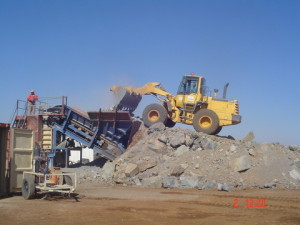 09 - DR08022 - On Site Crusher