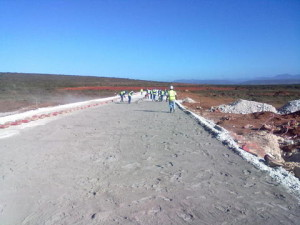 10 - Construction of Standford Road and Bloemendal Arterial - Cement stabilization of Subbase