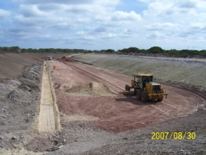 12 - CDC Zone 5 - Attenuation Pond Levelling & Low-Flow Channel Construction