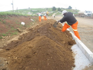 12 - DR08022 - Side walk Construction in Sulenkama