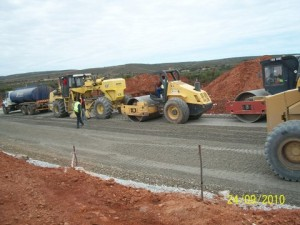 15 - Construction of Standford Road and Bloemendal Arterial - Subbase Stabilisation