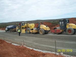 16 - Construction of Standford Road and Bloemendal Arterial - Subbase Stabilisation