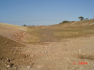 19 - CDC Zone 5 - View of Attenuation Pond from Inlet