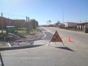 19 - Construction of Asphalt sidewalks - Signage