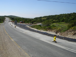 20 - Patch & Reseal of TR45 - Primed Base Course Riet River Intersection km 13