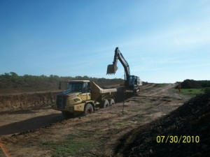 21 - Construction of Standford Road and Bloemendal Arterial - Bulk Earthworks opertation