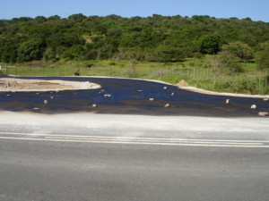 21 - Patch & Reseal of TR45 - Primed Base Riet River Intersection km 13