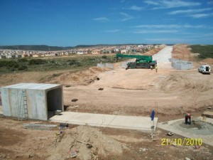 22 - Construction of Standford Road and Bloemendal Arterial - Storm Water culvert construction