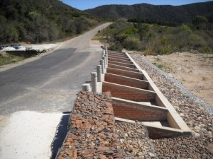 22 - Kouga-Koukamma - Road Failure and Stormwater Structure (After)
