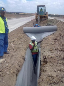 25 - Construction of Standford Road and Bloemendal Arterial - Installation of SUb Surface Drainage