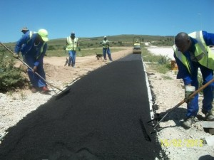 37 - Construction of Standford Road and Bloemendal Arterial - Asphalt Walk Way