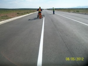 41 - Construction of Standford Road and Bloemendal Arterial - Road Marking