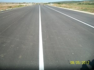 43 - Construction of Standford Road and Bloemendal Arterial - Road Marking