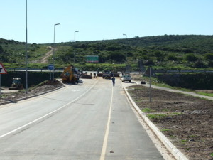 46 - Construction of Standford Road and Bloemendal Arterial - End product with Snags ongoing